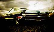 Custom Auto Prints - 1965 Pontiac Bonneville Print by Phil