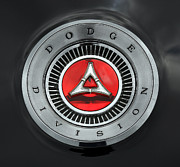 Dodge Digital Art - 1966 1967 Dodge Charger Trunk Emblem - Dodge Division by Gordon Dean II