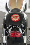 Bsa Photos - 1966 BSA 650 A-65 Spitfire Lightning Clubman Motorcycle by Jill Reger
