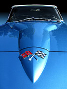Chico Framed Prints - 1966 Corvette Convertible Framed Print by Peter Piatt
