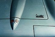 Sting Ray Art - 1966 Corvette Sting Ray Hood Insignia by Paul Ward