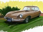 RG McMahon - 1966 Jaguar XKE