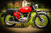 Bsa Photos - 1967 BSA Spitfire by Rene Triay Photography