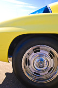 1967 Chevrolet Corvette Sport Coupe Rear Wheel Print by Jill Reger