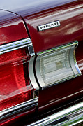 Plymouth Car Posters - 1967 Plymouth Hemi Taillight  Poster by Jill Reger