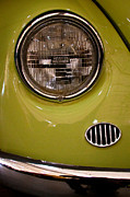 Volkswagen Beetle Acrylic Prints - 1967 Volkswagen Beetle 2 Door Sedan Acrylic Print by David Patterson