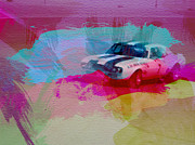 Driver Digital Art Posters - 1968 Chevy Camaro Poster by Irina  March