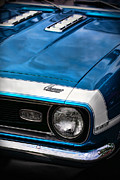 1968 Chevy Camaro Ss 396 Print by Gordon Dean II