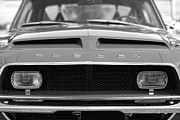 Chrome Jet Framed Prints - 1968 Ford Mustang Shelby GT500 KR - King of the Road Framed Print by Gordon Dean II