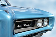 1968 Pontiac Gto Print by Betty Northcutt