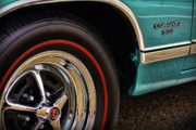 Gratiot Digital Art Originals - 1969 Dodge Coronet 500 by Gordon Dean II