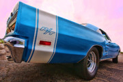 Tail Lights Digital Art - 1969 Dodge Coronet RT by Gordon Dean II