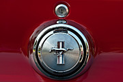 Mach I Prints - 1969 Ford Mustang Mach I Gas Cap Print by  Onyonet  Photo Studios