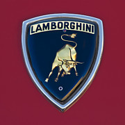 1969 Photos - 1969 Lamborghini Islero S Coupe Emblem by Jill Reger