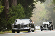 Presidential Photos Metal Prints - 1969 Mercedes-Benz 600 Presidential Landaulet Metal Print by Jill Reger