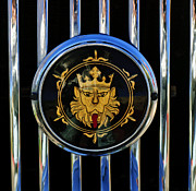 1969 Photos - 1969 Morgan Roadster Grille Emblem 2 by Jill Reger