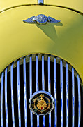 1969 Photos - 1969 Morgan Roadster Grille Emblems by Jill Reger