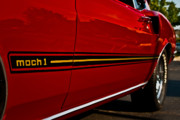 Mach I Prints - 1969 Mustang Mach I Print by  Onyonet  Photo Studios