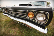 Stock Photo Digital Art Metal Prints - 1969 Plymouth Road Runner 440-6 Metal Print by Gordon Dean II
