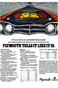 Moonshine Digital Art Framed Prints - 1969 Plymouth Road Runner 440 Framed Print by Digital Repro Depot