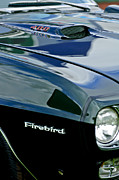1969 Photos - 1969 Pontiac Firebird Emblem by Jill Reger