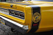 Antic Car Framed Prints - 1969 Super Bee Framed Print by David Lee Thompson