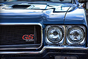 Horsepower Digital Art Originals - 1970 Buick GS 455 by Gordon Dean II