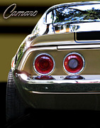 Tail Lights Photos - 1970 Camaro FAT ASS by Peter Piatt