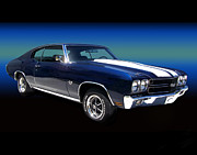 Chevelle Framed Prints - 1970 Chevelle SS Framed Print by Peter Piatt