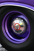 Mopar Metal Prints - 1970 Dodge Challenger RT Wheel Metal Print by Gordon Dean II