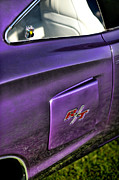1970 Dodge Super Bee Rear Quarter Panel Framed Prints - 1970 Dodge Coronet RT - Plum Crazy Purple Framed Print by Gordon Dean II