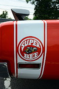 1970 Dodge Super Bee Rear Quarter Panel Prints - 1970 Dodge Super Bee 1 Print by Paul Ward