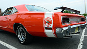 Dodge Super Bee Insignia Prints - 1970 Dodge Super Bee 2 Print by Paul Ward