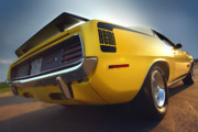 Rear Originals - 1970 Hemi Cuda  by Gordon Dean II