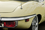 Jaguar E Type Posters - 1970 Jaguar XK Type-E Taillight 2 Poster by Jill Reger