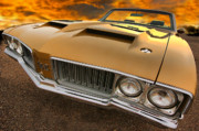 Horsepower Digital Art Originals - 1970 Oldsmobile 442 W-30 by Gordon Dean II