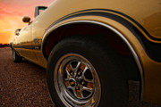 Horsepower Digital Art Originals - 1970 Oldsmobile Cutlass 4-4-2 W-30  by Gordon Dean II