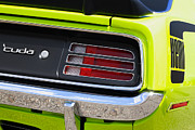 Sublime Digital Art Originals - 1970 Sublime Green HEMI Cuda  by Gordon Dean II