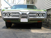Mopar Metal Prints - 1970s Plymouth Fury Metal Print by Geoff Strehlow