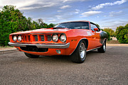 Diana Gunning Prints - 1971 Plymouth Barracuda Print by Diana Gunning