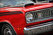 Decals Posters - 1971 Plymouth Duster 340 Poster by Gordon Dean II