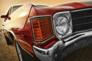 Chevelle Digital Art Prints - 1972 Chevrolet Chevelle SS  Print by Gordon Dean II