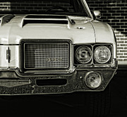 Lights Digital Art Originals - 1972 Olds 442 by Gordon Dean II