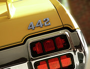Detroit  Originals - 1972 Oldsmobile Cutlass 4-4-2 by Gordon Dean II