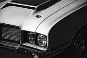 Gratiot Digital Art Originals - 1972 Oldsmobile Cutlass 442 by Gordon Dean II