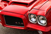Headlight Digital Art - 1972 Pontiac GTO by Gordon Dean II