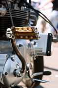 Harley Davidson Photos - 1972 Triumph Custom by Marley Holman