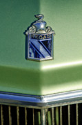 Vintage Hood Ornaments Prints - 1973 Buick Regal Hood Ornament Print by Jill Reger