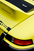Classic Porsche 911 Photos - 1973 Porsche 911 Carrera RS Taillight by Jill Reger