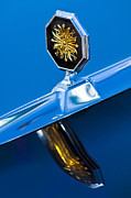 1975 Framed Prints - 1975 Pontiac Grand Ville Hood Ornament Framed Print by Jill Reger